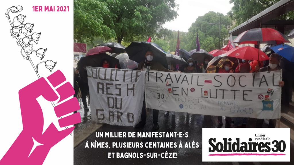 1er mai : revue de presse des manifestations dans le Gard