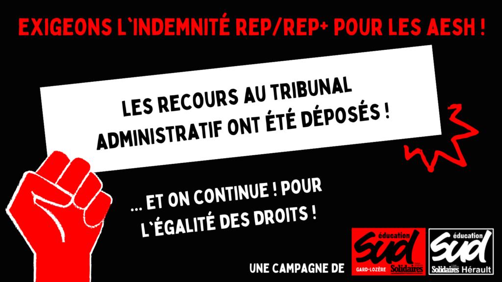 Indemnité REP/REP+ pour les AED et les AESH : point d'étape de la campagne
